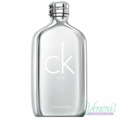 Calvin Klein CK One Platinum Edition EDT 100ml за Мъже и Жени БЕЗ ОПАКОВКА