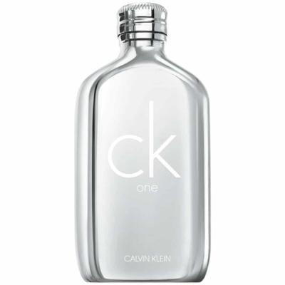 Calvin Klein CK One Platinum Edition EDT 100ml за Мъже и Жени Унисекс Парфюми БЕЗ ОПАКОВКА