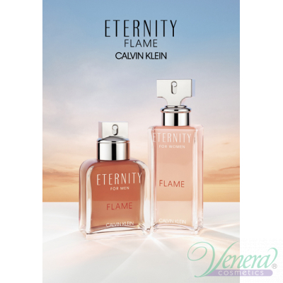 Calvin Klein Eternity Flame EDP 100ml за Жени БЕЗ ОПАКОВКА Дамски Парфюми без опаковка