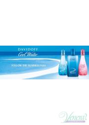 Davidoff Cool Water Caribbean Summer Edition EDT 100ml για γυναίκες ασυσκεύαστo Γυναικεία Аρώματα χωρίς συσκευασία