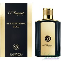 S.T. Dupont Be Exceptional Gold EDT 100ml for Men Without Package Men's Fragrances without package