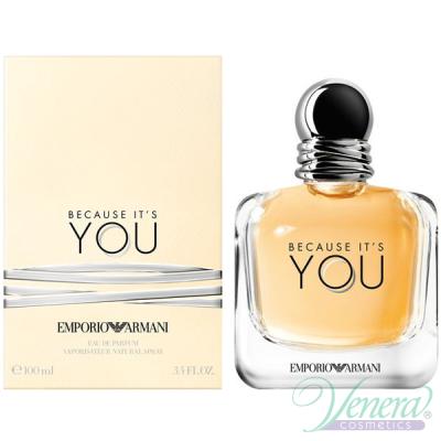 Emporio Armani Because It's You EDP 100ml for Women Women's Fragrance