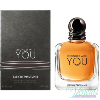Emporio Armani Stronger With You EDT 100ml за Мъже Мъжки Парфюми