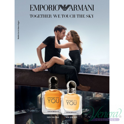 Emporio Armani Because It's You EDP 100ml за Жени БЕЗ ОПАКОВКА