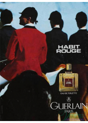 Guerlain Habit Rouge EDT 100ml για άνδρες ασυσκεύαστo Προϊόντα χωρίς συσκευασία