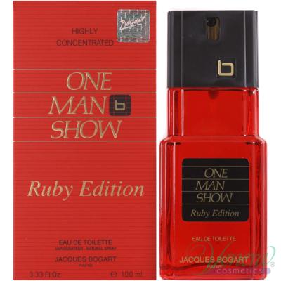 Jacques Bogart One Man Show Ruby Edition EDT 100ml за Мъже БЕЗ ОПАКОВКА Мъжки Парфюми без опаковка