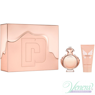 Paco Rabanne Olympea Комплект (EDP 80ml + Body Lotion 100ml) Metal Box за Жени