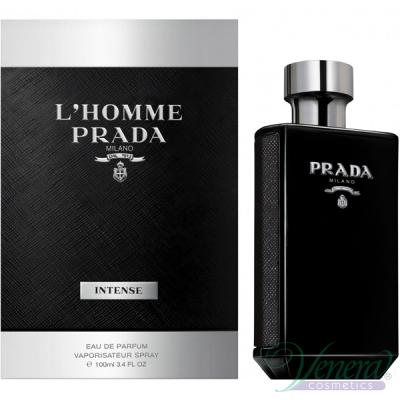 Prada L'Homme Intense EDP 100ml за Мъже Мъжки Парфюми