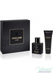 Roberto Cavalli Uomo Set (EDT 60ml + SG 75ml) για άνδρες Men's Gift sets