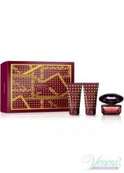 Versace Crystal Noir Set (EDT 50ml + BL 50ml + SG 50ml) για γυναίκες Γυναικεία σετ