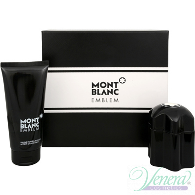 Mont Blanc Emblem Set (EDT 60ml + AS Balm 100ml) for Men Sets