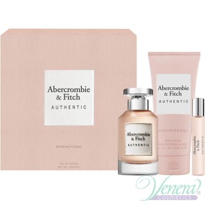 Abercrombie & Fitch Authentic Комплект (EDP 100ml + EDP 15ml + BL 200ml) за Жени