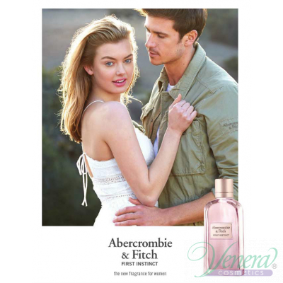 Abercrombie & Fitch First Instinct for Her Комплект (EDP 100ml + EDP 15ml + BL 200ml) за Жени Дамски Комплекти