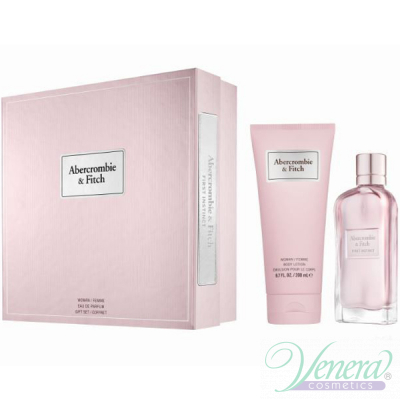 Abercrombie & Fitch First Instinct for Her Комплект (EDP 100ml + BL 200ml) за Жени Дамски Комплекти