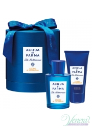 Acqua di Parma Blu Mediterraneo Cedro di Taormina Set (EDT 150ml + SG 75ml) για άνδρες και Γυναικες Unisex's Gift sets