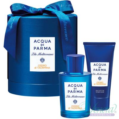 Acqua di Parma Blu Mediterraneo Cedro di Taormina Комплект (EDT 150ml + SG 75ml) Мъже и Жени Унисекс Комплекти