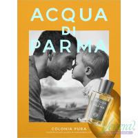 Acqua di Parma Colonia Pura Set (EDC 100ml + SG 50ml + Deo Spray 50ml) for Men and Women Unisex Gift sets