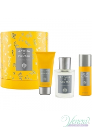 Acqua di Parma Colonia Pura Set (EDC 100ml + SG 50ml + Deo Spray 50ml) για άνδρες και Γυναικες Unisex Gift sets