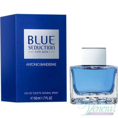 Antonio Banderas Blue Seduction EDT 50ml за Мъже Мъжки Парфюми