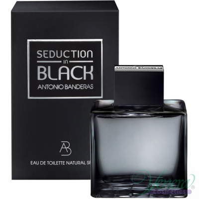 Antonio Banderas Seduction in Black EDT 100ml за Мъже Мъжки Парфюми
