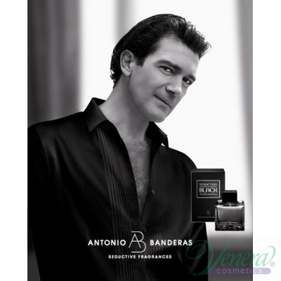 Antonio Banderas Seduction in Black Set (EDT 50ml + AS Balm 50ml) за Мъже Мъжки Комплекти
