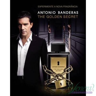 Antonio Banderas The Golden Secret EDT 50ml за Мъже Мъжки Парфюми