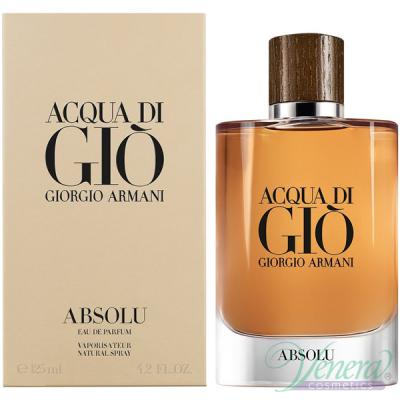 Armani Acqua Di Gio Absolu EDP 125ml за Мъже Мъжки Парфюми