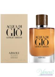 Armani Acqua Di Gio Absolu EDP 75ml για άνδρες Ανδρικά Αρώματα