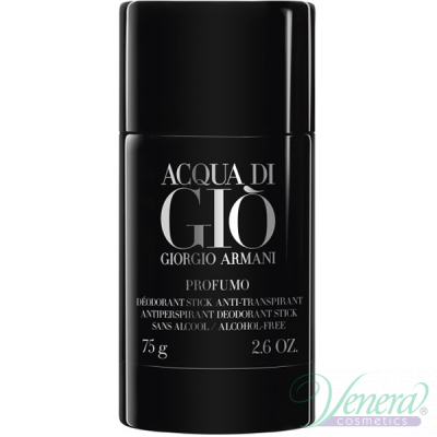 Armani Acqua Di Gio Profumo Deo Stick 75ml за Мъже Мъжки продукти за лице и тяло