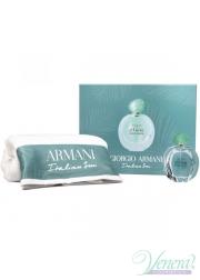 Armani Acqua Di Gioia Set (EDP 100ml + Towel) για γυναίκες Γυναικεία Σετ