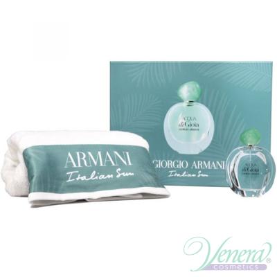 Armani Acqua Di Gioia Set (EDP 100ml + Towel) pentru Femei Seturi