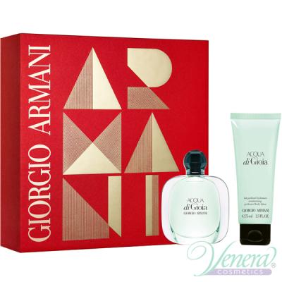 Armani Acqua Di Gioia Комплект (EDP 30ml + Body Lotion 75ml) за Жени Дамски комплекти