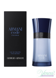Armani Code Colonia EDT 50ml για άνδρες Ανδρικά Аρώματα