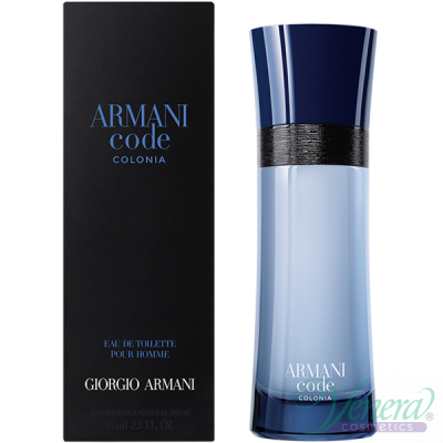 Armani Code Colonia EDT 75ml за Mъже Мъжки Парфюми