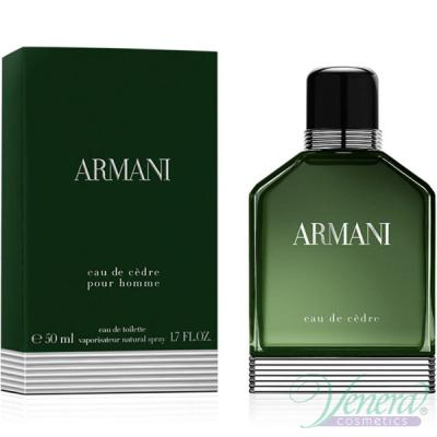 Armani Eau de Cedre EDT 50ml за Мъже Мъжки парфюми