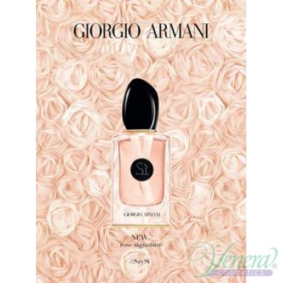 Armani Si Rose Signature II EDP 100ml за Жени БЕЗ ОПАКОВКА Дамски Парфюми без опаковка