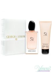 Armani Si Set (EDP 100ml + BL 75ml) για γυναίκες Γυναικεία σετ