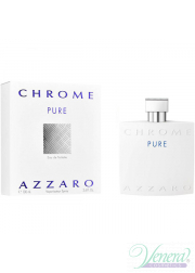 Azzaro Chrome Pure EDT 100ml για άνδρες Men's Fragrance