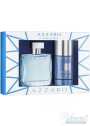 Azzaro Chrome Set (EDT 50ml + Deo Stick 75ml) για άνδρες Αρσενικά Σετ