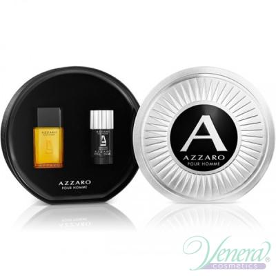 Azzaro Pour Homme Комплект (EDT 50ml + Deo Stick 75ml) за Мъже Мъжки Комплекти