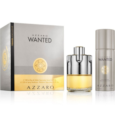 Azzaro Wanted Комплект (EDT 100ml + Deo Sp...