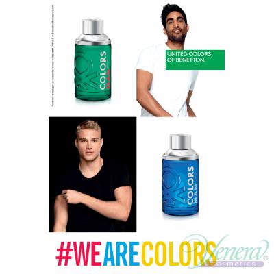 Benetton Colors Man Green EDT 200ml pentru Bărbați Arome pentru Bărbați