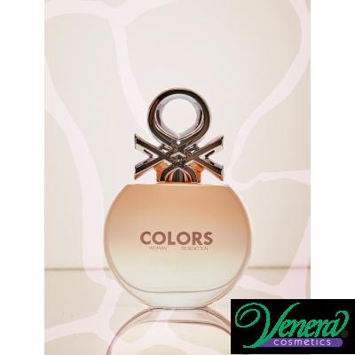 Benetton Colors Woman Rose EDT 50ml pentru Femei Parfumuri pentru Femei