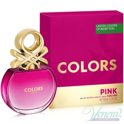 Benetton Colors de Benetton Pink EDT 50ml pentru Femei AROME PENTRU FEMEI