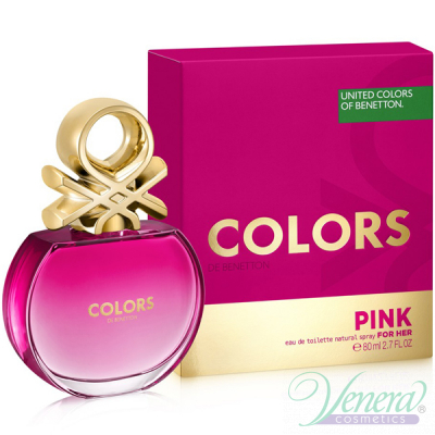 Benetton Colors de Benetton Pink EDT 80ml за Жени