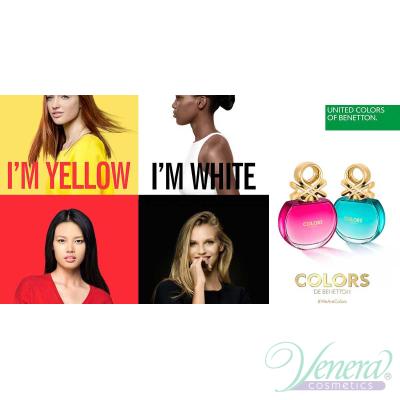Benetton Colors de Benetton Blue EDT 50ml pentru Femei AROME PENTRU FEMEI