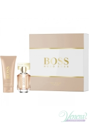 Boss The Scent for Her Set (EDP 30ml + BL 100ml) για γυναίκες Γυναικεία Σετ