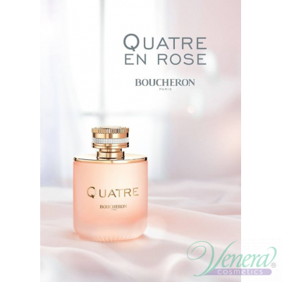Boucheron Quatre En Rose EDP 50ml за Жени Дамски Парфюми