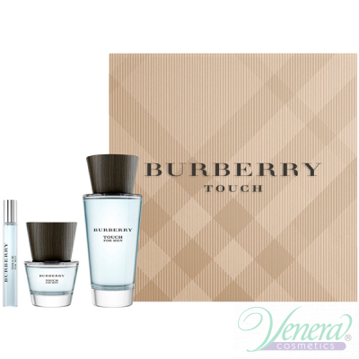 Burberry Touch Комплект (EDT 100ml + EDT 30ml + EDT 7.5ml) за Мъже