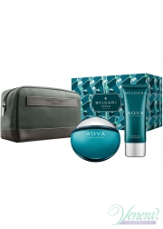 Bvlgari Aqva Pour Homme Set (EDT 100ml + AS Balm 100ml + Bag) για άνδρες Αρσενικά Σετ